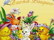 Schema punto croce: Quadretto Buona Pasqua