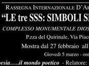 "SSS: simboli, segni sogni"" poeta Angelo Sagnelli quale relatore"