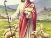 Schemi punto croce: Cartolina augurare Buona Pasqua Gesù Buon Pastore