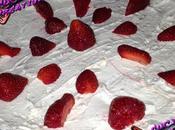 torta fredda fragole panna
