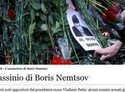 L'assassinio Boris Nemtsov, avversario Putin