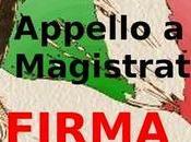 #fermiamoladittatura, appello tutti Magistrati d'Italia