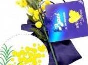 Festa della Donna, ramo mimosa Baci Perugina