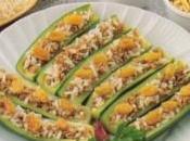Zucchine ripiene alla turca
