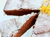 Torta albumi cioccolato profumata bergamotto