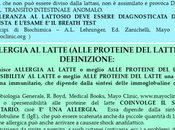Intolleranza lattosio allergia alle proteine latte, diagnosi