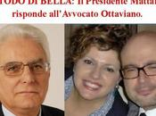 Metodo Bella: risposta Presidente della Repubblica Mattarella all'Avvocato Ottaviano