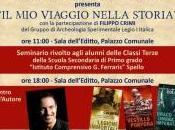 """PASSAparola Massimiliano Colombo incontra studenti dell'Istituto Ferraris"""" sabato marzo presentazione suoi romanzi storici alle 18.00 nella Sala dell'Editto"""