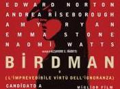 Birdman l'imprevedibile virtù dell'ignoranza)