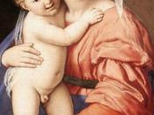 Schema punto croce: Madonna Bambino Salvi
