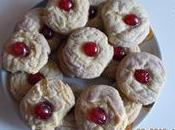 Crinkles cioccolato bianco, limoncello ciliegie candite