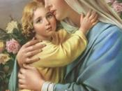 Schema punto croce: Madonna Bambino_2