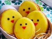 Frollini glassati forma pulcino, idea regalo Pasqua