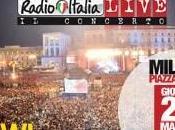 """RadioItaliaLive concerto"" Alessandra Amoroso, Cesare Cremonini, Fedez, Marco Mengoni, Gianna Nannini, Nek, Pezzali"