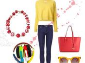 Casual yellow with
