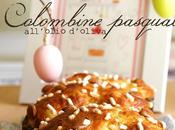 Colombine pasquali all'olio d'oliva Little easter cakes with olive
