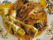 Speciale Pasqua: agnello forno carciofi.