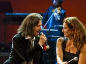 """(@GiovanniNuti) venerdì aprile MONICA GUERRITORE GIOVANNI NUTI palco Teatro Politeama Genova """"Mentre rubavo vita!"""""""