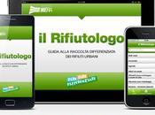 Rifiutologo, l'app raccolta differenziata