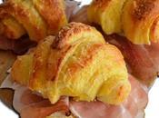 Croissant salati speck robiola