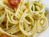 Pasta broccoli pomodorini with cherry tomatoes