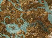 Svelata mappa completa Witcher Wild Hunt