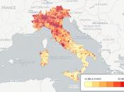 nuova mappa reddito degli italiani, questi comuni ricchi