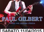 Paul gilbert (from big) live gasoline road (castegnato-bs)