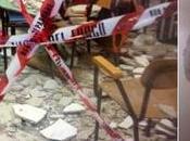 Crolla soffitto scuola Ostuni: tragedia sfiorata