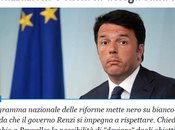 """miliardi trovati sotto cavolo, """"cronoprogramma"""" altre palle Renzi"""