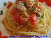 Spaghetti grappa tonno pomodorini