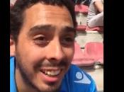 Video. Paolo commuovere giovane argentino
