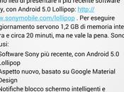 Sony Xperia aggiornare Lollipop (5.0.2)