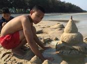 castelli sabbia ชะอำ c'ero stato per...