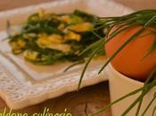 agretti uova L'Italia piatto