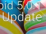 Android 5.0.1 Lollipop stato rilasciato anche Samsung Galaxy Note brand