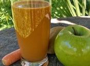 Centrifugato (depurativo riequilibrante) mela verde, kiwi carota