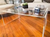 Pillole plexiglass: Tavolino ponte trasparente