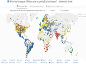 Twitter lancia mappa interattiva tifosi della Premier League