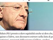 """motto Campania: candidare """"cani porci"""""""