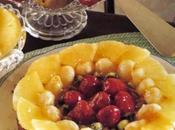 Festosa torta alla frutta ideale anche festa compleanno.