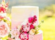 Ombre Wedding Cake, scelta stile