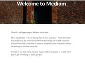 Online Writing: Medium