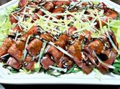 Portafogli bresaola, grana, insalatina croccante riduzione balsamico