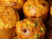 Muffin salati fave piselli