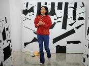 opera metri dell'artista cinese Zhang Hong alla Biennale Venezia