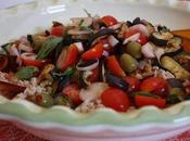 Scampagnate! Insalata Tiepida Farro Warm Spelt Vegetable Salad