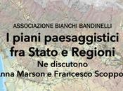 piani paesaggistici Stato Regioni