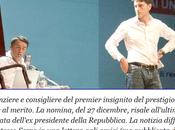 """""""Canto Cigno"""" stonato Napolitano: Davide Serra nominato Commendatore, dopo quattro mesi"""