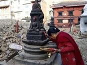 Kumari macerie Nepal